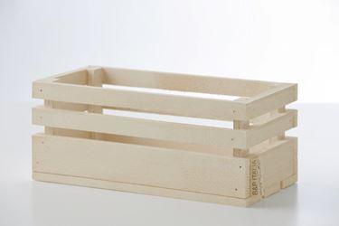Immagine di Cassetta legno naturale, 30x15xh.15cm
