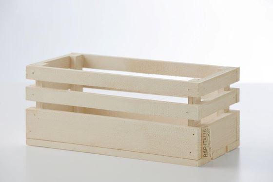 Picture of Cassetta legno naturale, 30x15xh.15cm
