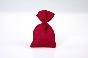 Immagine di Sacchetto JUTA 15x25cm rosso 50pz