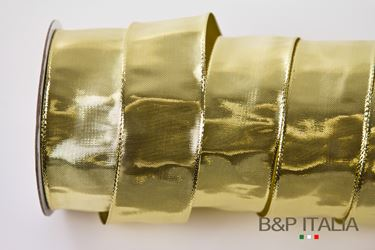 Picture of Nastro h.10mm 50mLame' oro