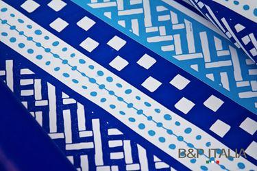 Picture of Bobina, Perlato,  h.cm100,AZTECO, azzurro/blu