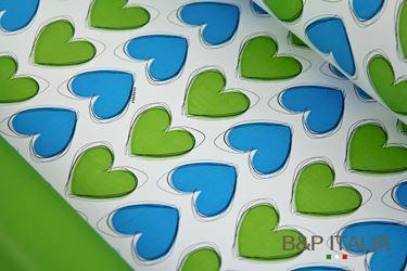Picture of Bobina, Perlato,  h.cm100,LES AMOURS, verde/azzurro