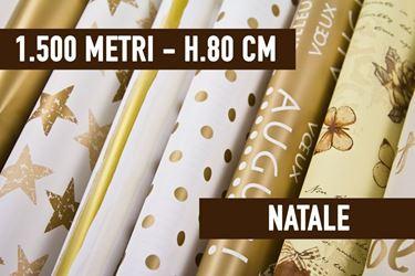 Immagine di BOBINE STOCK - 1500 METRI BOBINE NATALIZIE ASSORTITE H. 80 CM