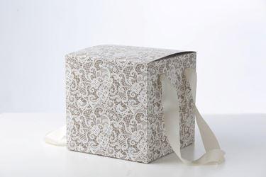 Picture of Box 24x24x24h, PIZZO, tortora, steso