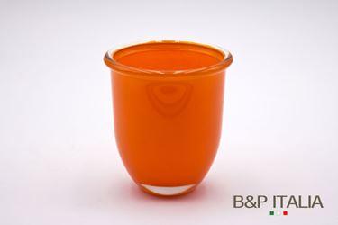 Immagine di Vaso ,arancio, vetro