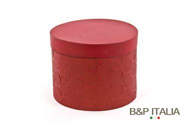 Picture of S/3 BOXES ECO EQUO POLKA,rosso, dxH interni 24,5x18,5