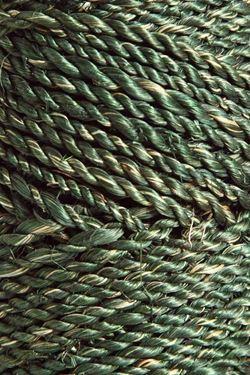 Immagine di Cordino ABACA 100gr, +/- 45mt verde scuro