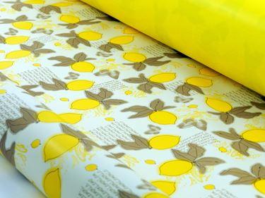 Picture of Bobina, Perlato,  h.cm100x30ml,LIMONE, avana/giallo,profumo limone