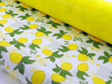 Picture of Bobina, Perlato,  h.cm100x30ml,LIMONE, giallo/verde,profumo limone