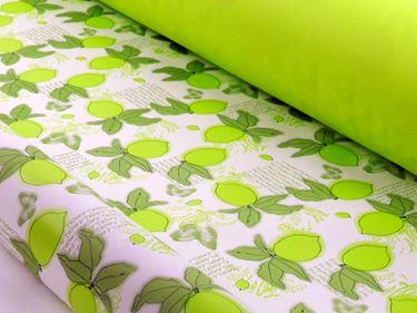 Picture of Bobina, Perlato,  h.cm100x30ml,LIMONE, verde/lime,profumo limone