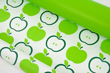 Picture of Bobina, Perlato,  h.cm100x30ml,MELE, verde, profumo mela