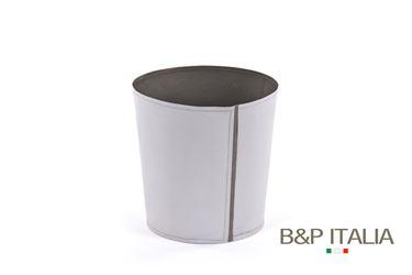 Picture of Conical POT, waterproof, grigio/grigio scuro, D. 13cm