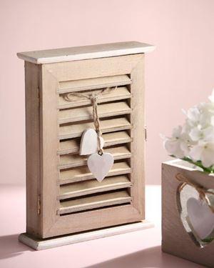 Picture of Mobile porta chiavi,  legno, naturale, 26x19xH6cm