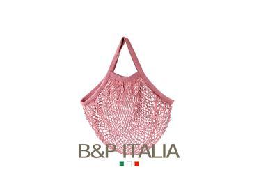 Picture of Borsa RETE, cotone organico, cipria, cm35x40, manico da spalla