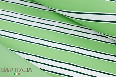 Picture of Bobina, Perlato,  h.cm100,RIGHE, salvia/verde scuro