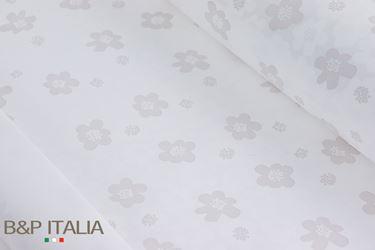 Picture of Bobina, Perlato, h.cm100, PRATO FIORITO, bianco, prof.olea