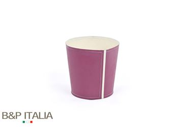 Picture of Conical POT, waterproof, vinaccia/crema, D.13cm