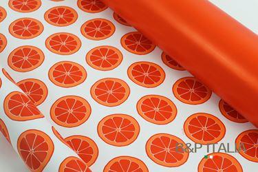 Picture of Bobina, Perlato,  h.cm100x30ml,ARANCIO, rosso/arancio,profumo arancio