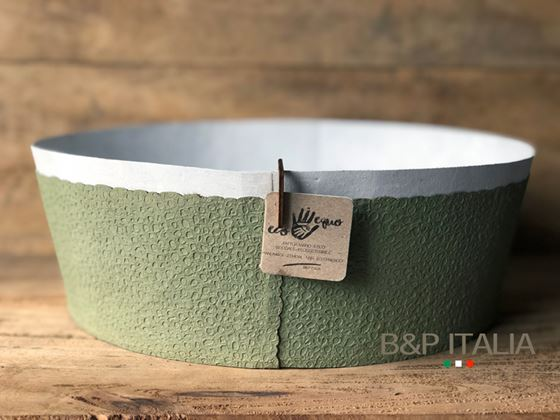 Picture of ZERO WASTE BOWL, waterproof, naturale/salvia, D. 30xH.10cm