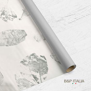 Picture of Bobina PLB h.cm 80, 60 mlLEAF bianco/argento